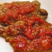fettine di carne alla pizzaiola