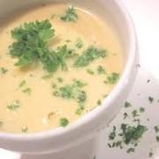 zuppa di topinambur e porri
