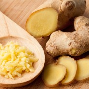 Different forms of ginger